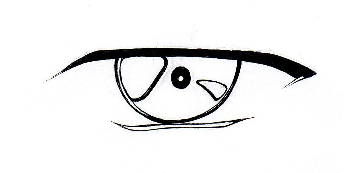 1242x594 Ideas Draw Anime Eyes