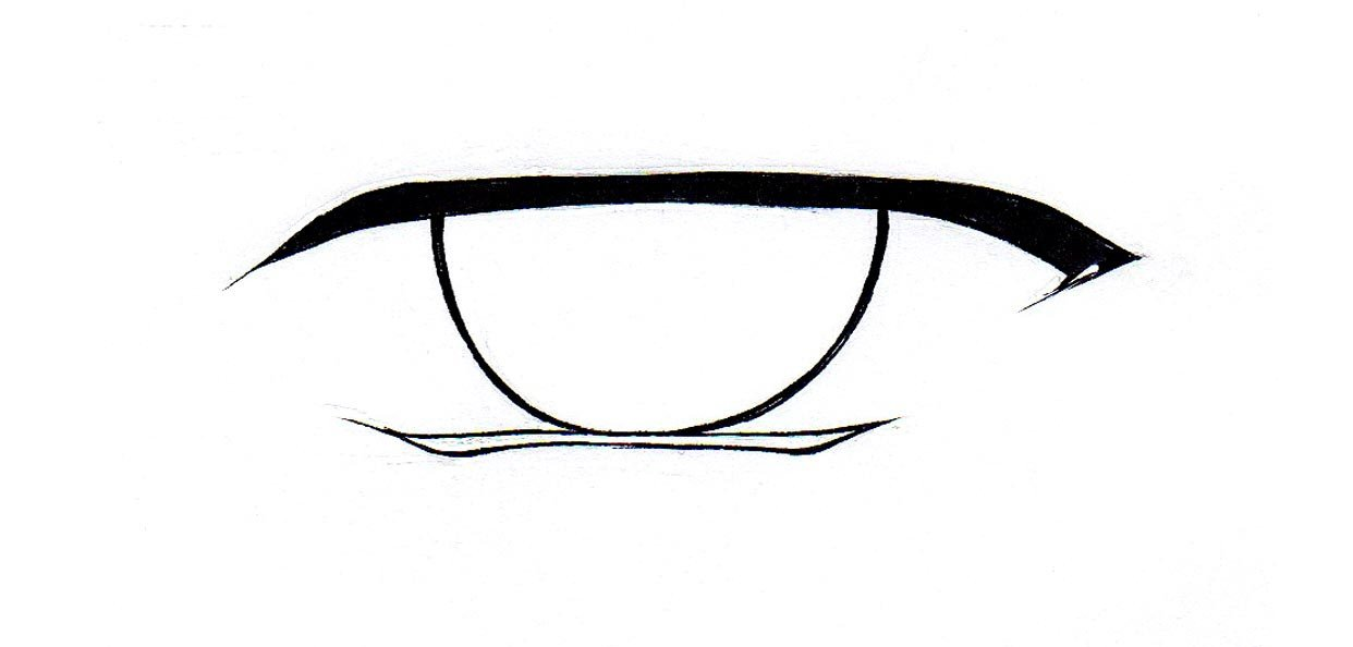 1242x594 Male Anime Eyes Png, Png Collections