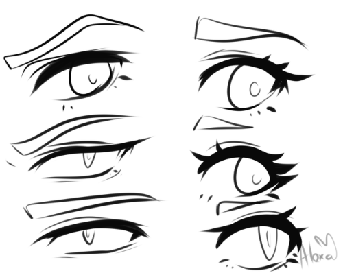 500x398 Anime Eye Tutorial Tumblr
