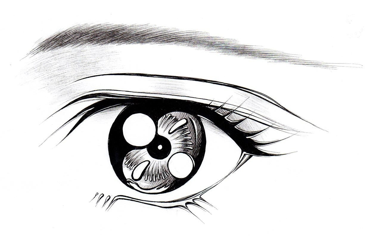 1242x828 How To Draw Anime Eyes