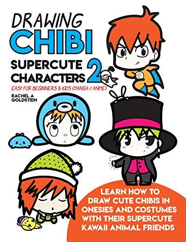383x500 Drawing Chibi Supercute Characters Easy For Beginners Kids