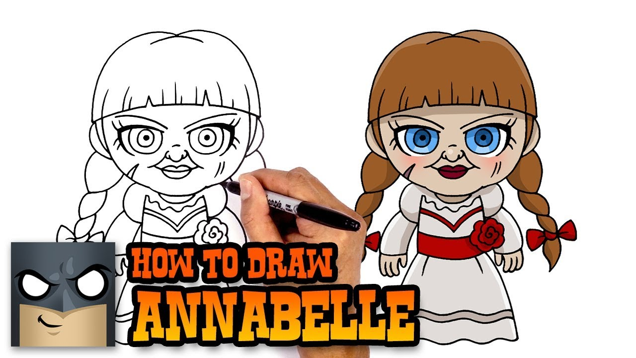 1280x720 How To Draw Annabelle