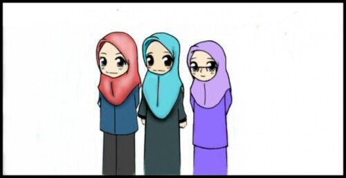500x257 sisters muslim manga anime muslimah, anime muslim, muslim