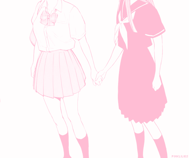 627x525 Tumblr Post Notmine Anime Pink Love Friends Friendship