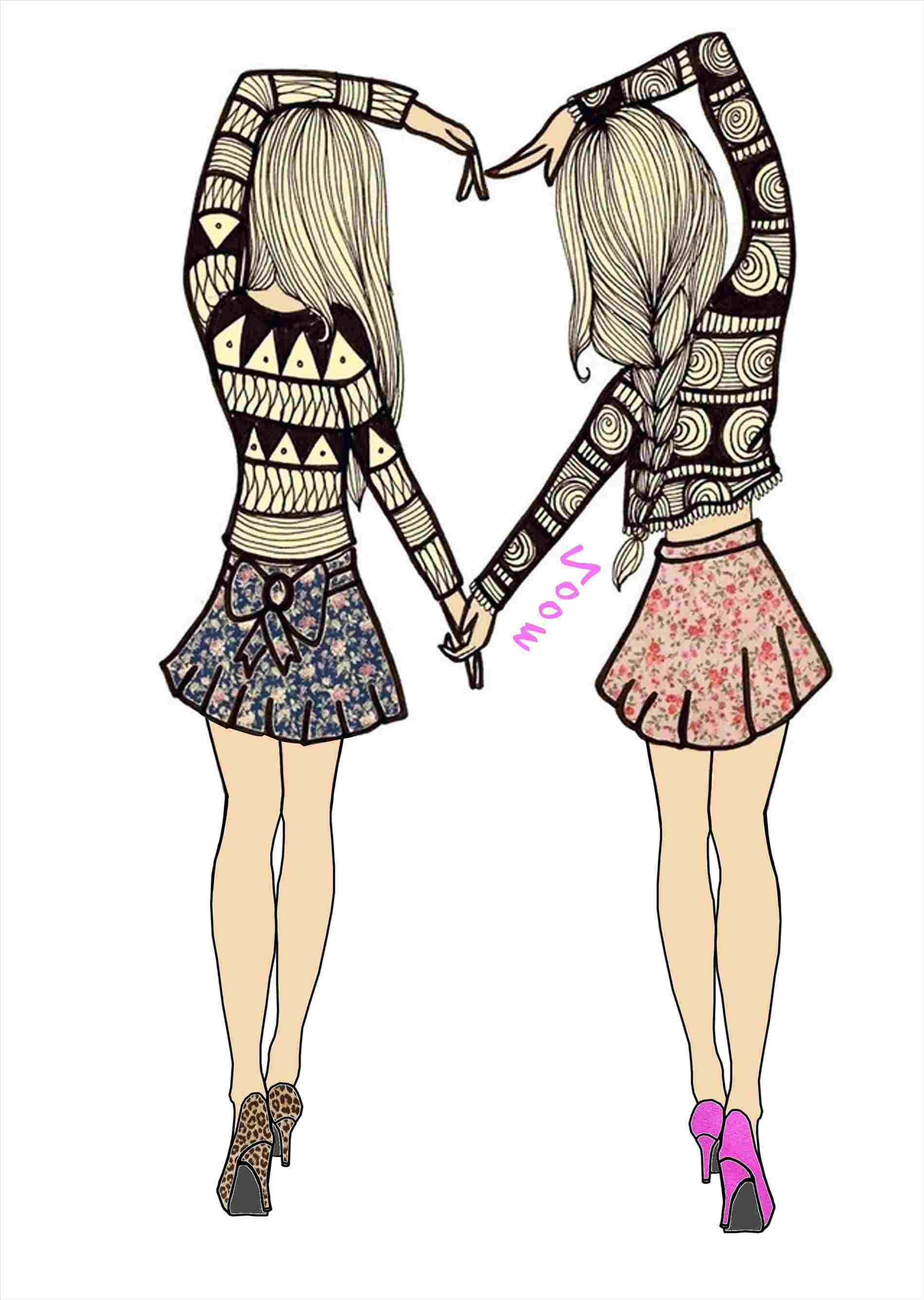 1899x2669 Best Friend Drawings Boy And Girl Easy