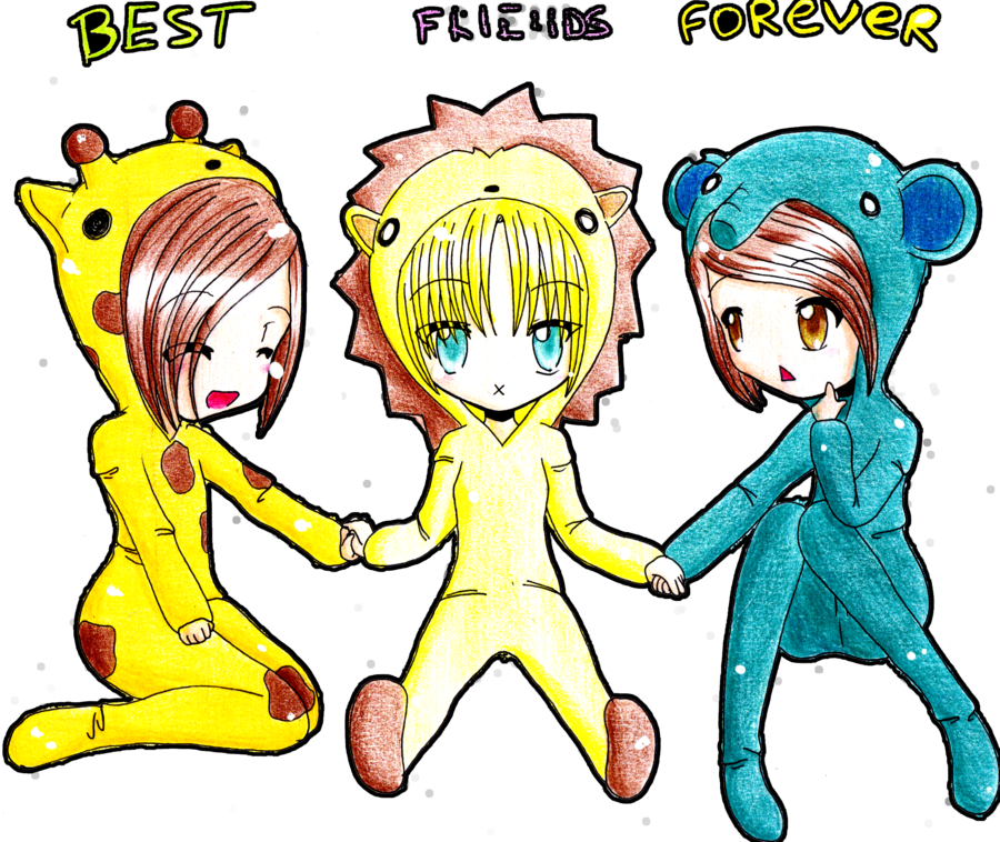 900x758 Best Friends Forever Cute Drawings Best Friends Forever