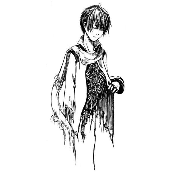 Anime Guy Drawing