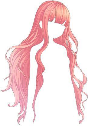 291x428 hair draw anime hair, manga hair, art