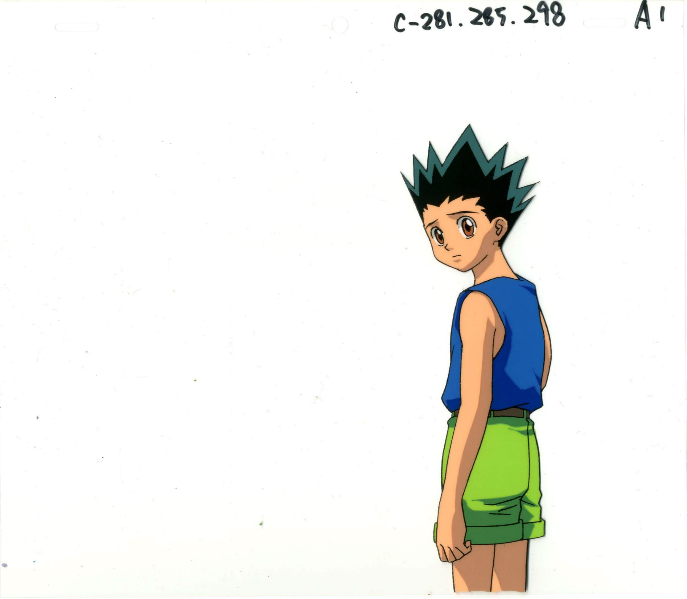 2200x1919 anime cel hunter x hunter