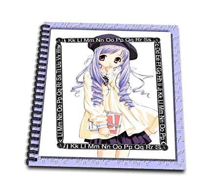 425x386 Db Schoolgirl Anime Drawing Book