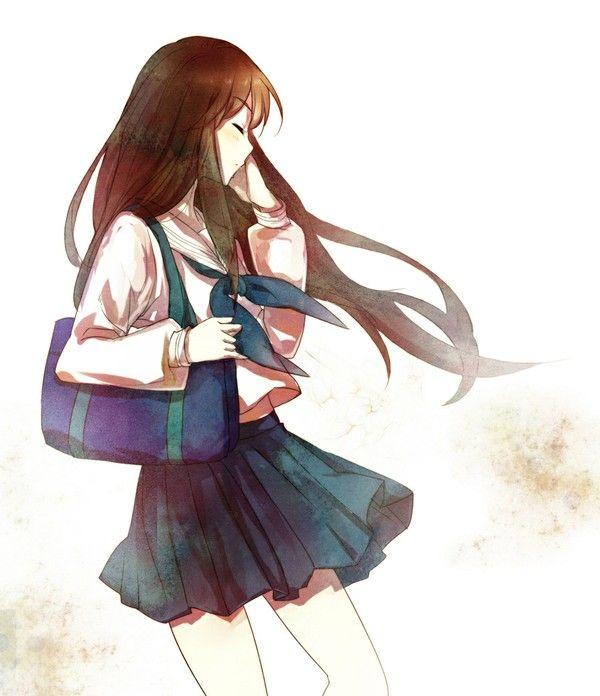 600x696 manga schoolgirl outfit