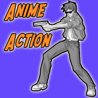 392x392 anime action scenes how to draw manga action poses step