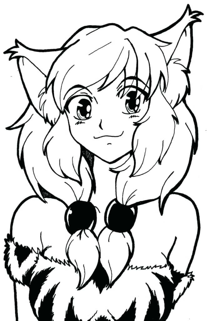 Anime Wolf Drawing | Free download on ClipArtMag