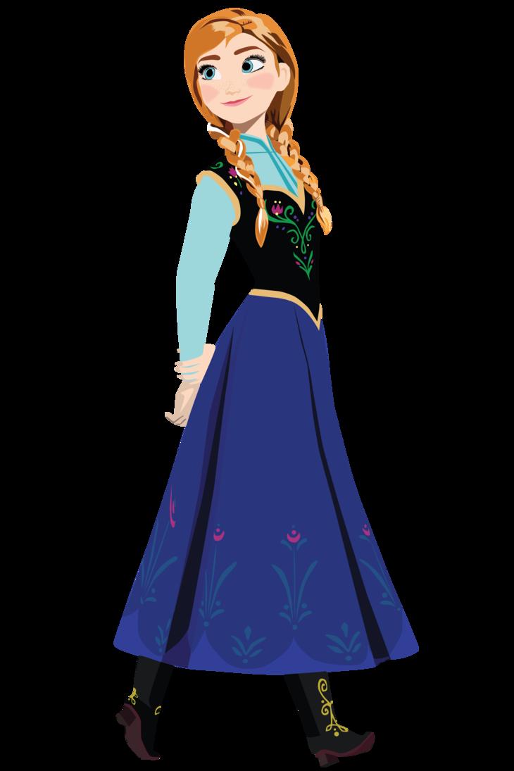Anna Frozen Drawing