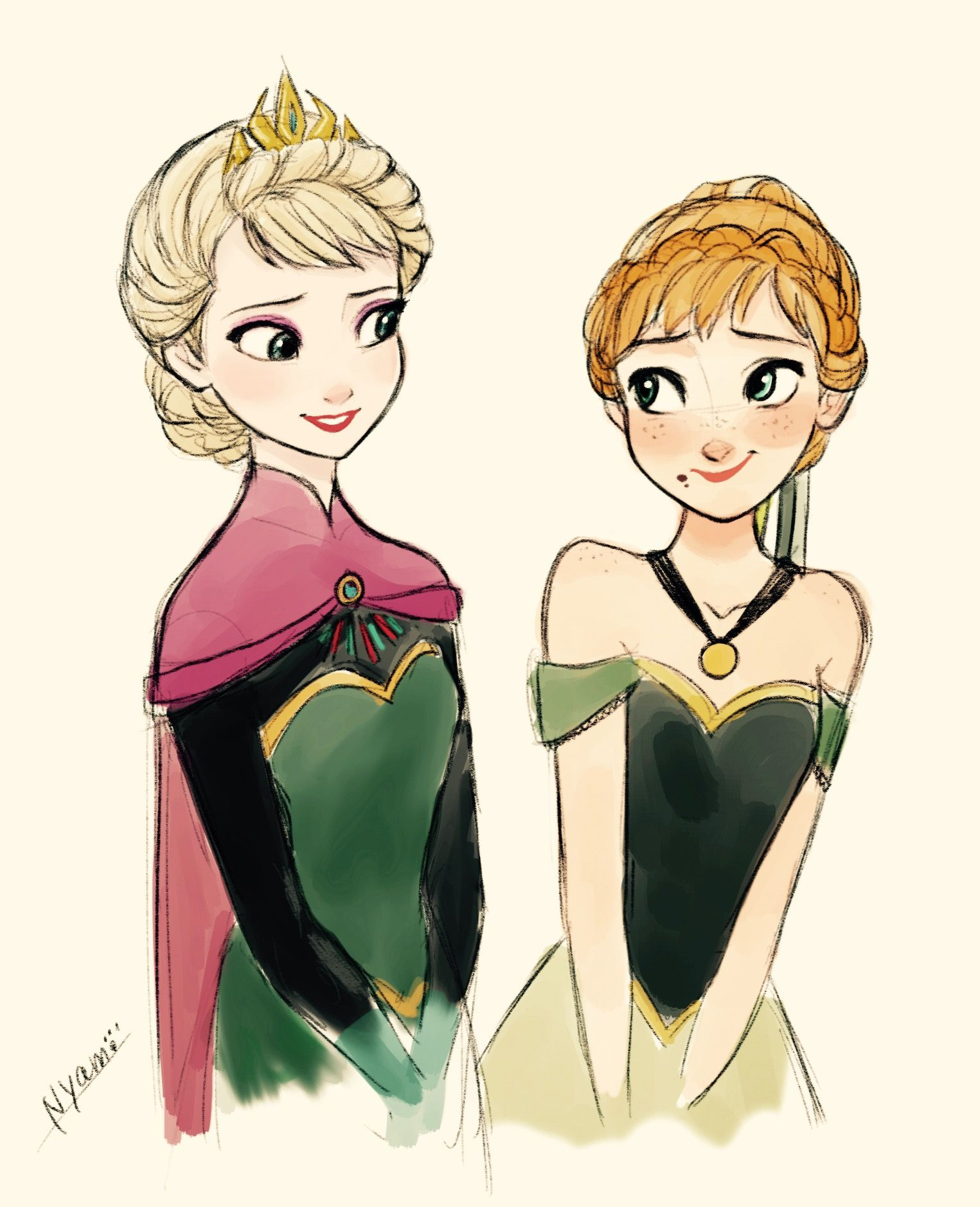 1525x1878 elsa and anna frozen, frozen love, disney frozen