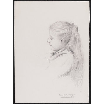 355x355 Portrait Of A Young Girl