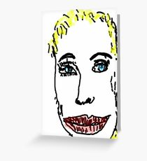 210x230 Annie Lennox Drawing Greeting Cards Redbubble
