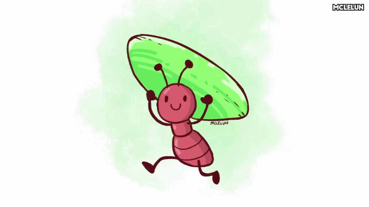 1280x720 Medibang Paint Pro Cute Cartoon Ant Drawing
