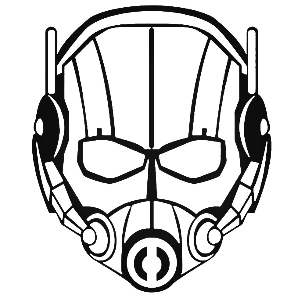 1000x1000 Mask Drawing Ant Man For Free Download