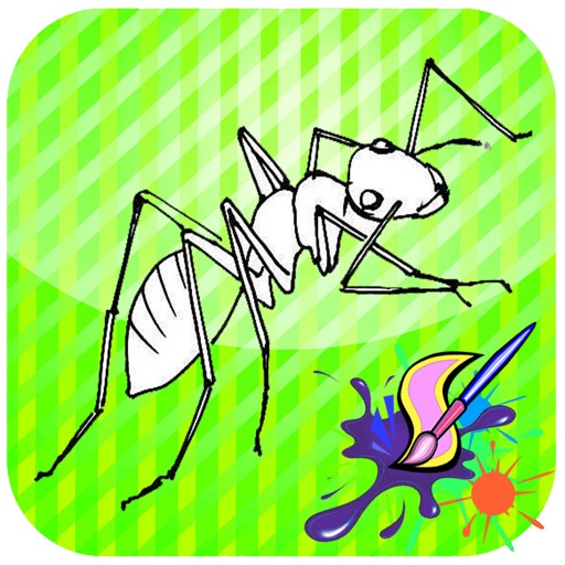 512x512 Coloring For Kid Ant For Kids