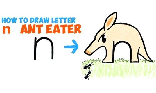 537x320 How To Draw An Ant Draw Anteater