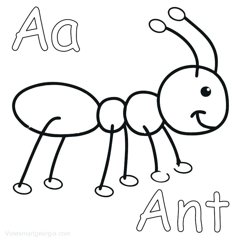 787x787 ant coloring pages ant coloring pages printable for kids ant man