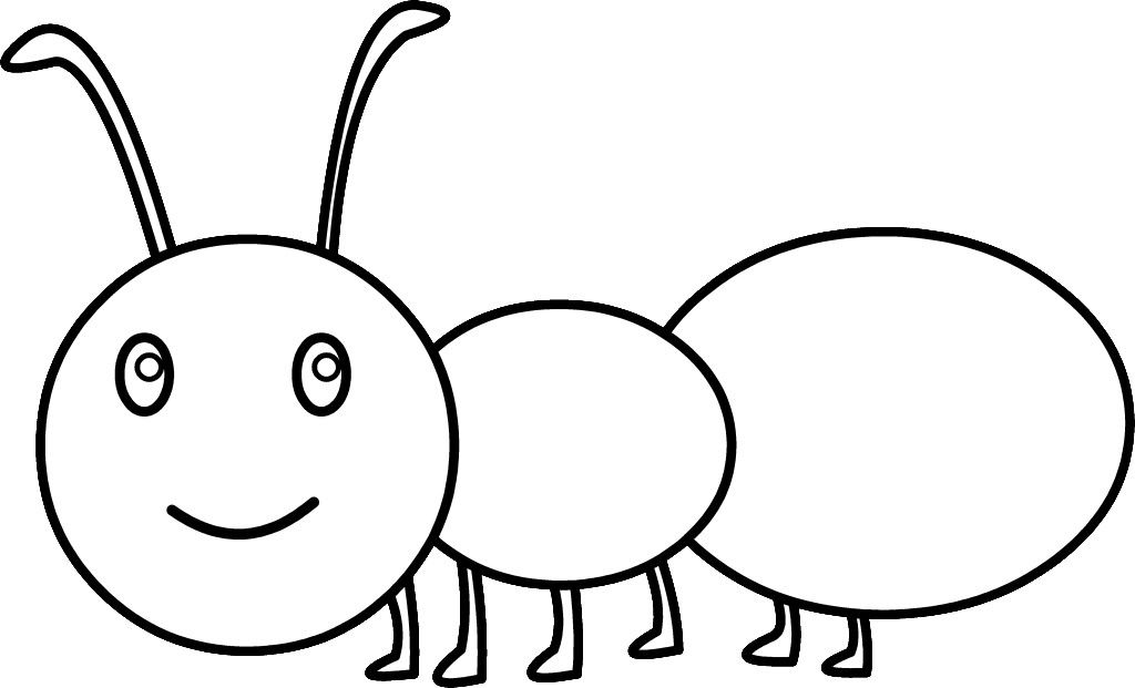 1024x621 Ant Coloring Pages For Kids