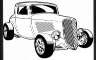 190x120 Cool Retro Vintage Car Drawing Ipad Case Spreadshirt