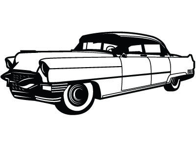 400x300 Old Timer Vector Clip Art