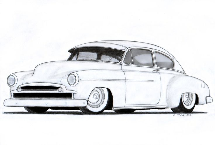 736x498 Cuba Drawing Antique Car For Free Download