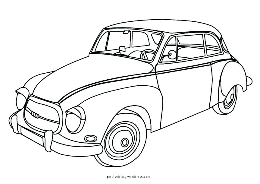 863x610 Bunch Ideas Of Vintage Car Colouring Pages Classic Car Coloring