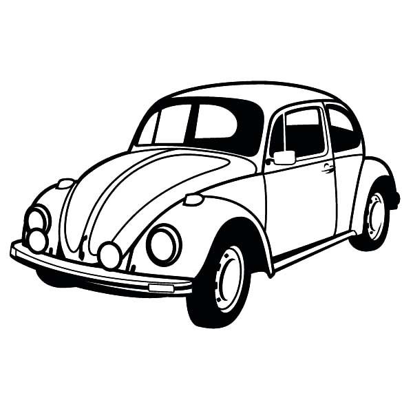600x600 Car Drawing Color
