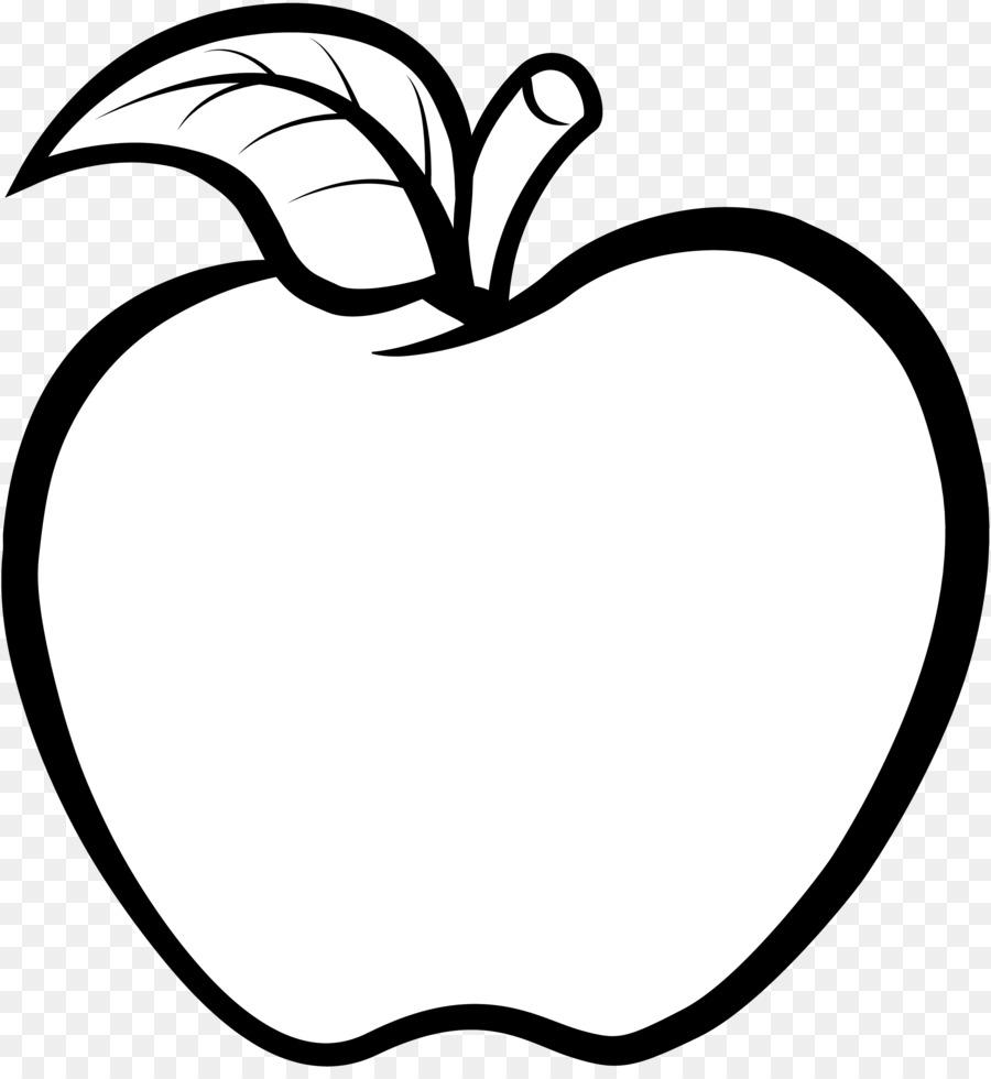 Apple Line Drawing