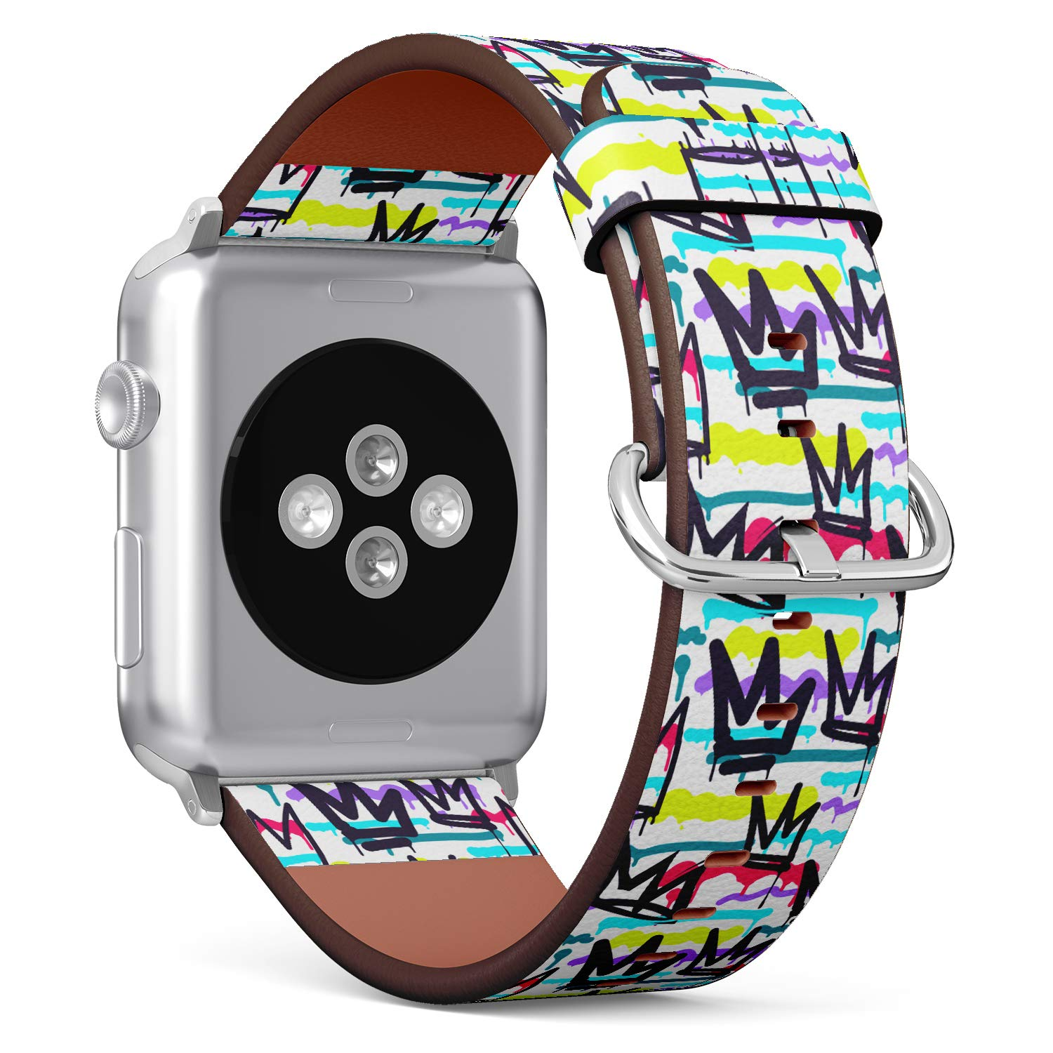 1500x1500 R Rong Iwatch Leather Replacement Strap Compatible