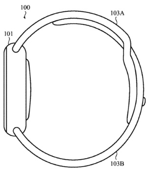 300x348 Future Apple Watches Could Automatically Adjust The Watch Band