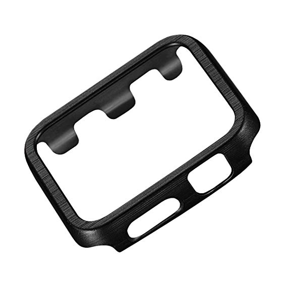 569x569 Wire Drawing Texture Hard Pc Bumper Case Anti Scratch
