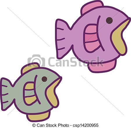 450x439 Aquarium Fish Clipart Vector