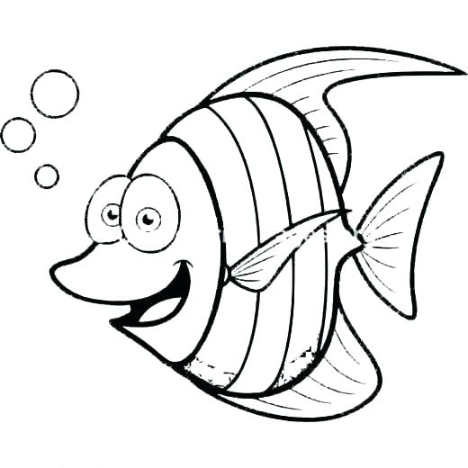 520x520 Coloring Pages For Fish Coloring Pages Fish Tank