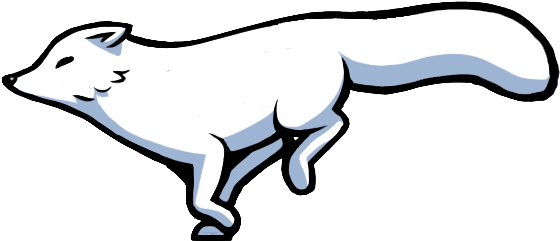 Arctic fox. Drawing free download best