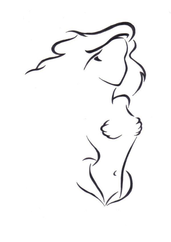 Ariel Princess Drawing