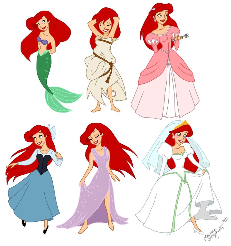 900x961 Arielgallery The Little Mermaid Fandom Powered