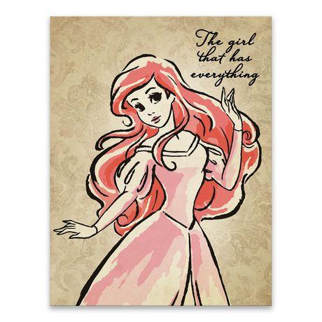 460x460 Artissimo Designs Disney Little Mermaid Ariel Fashionista Printed