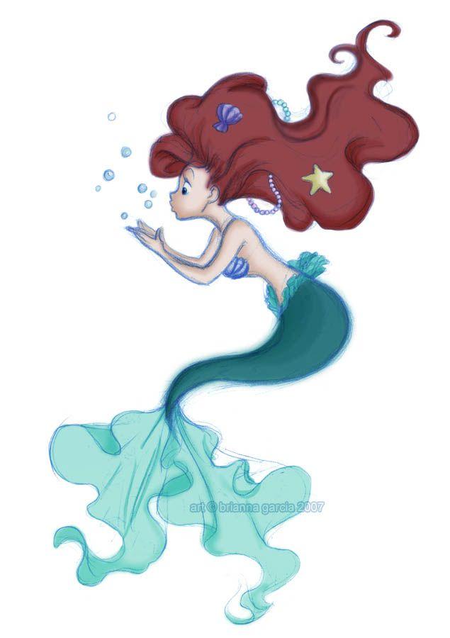 635x900 Little Mermaid Art Disney Disney, Mermaid Drawings, Disney