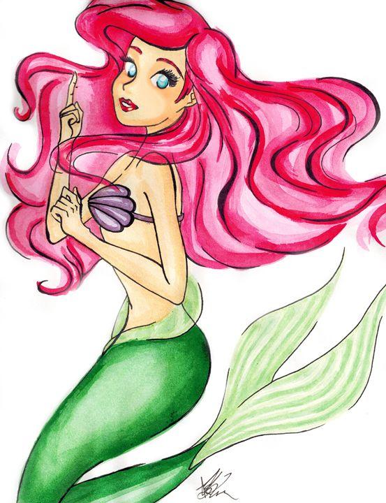 553x720 Ariel, The Little Mermaid