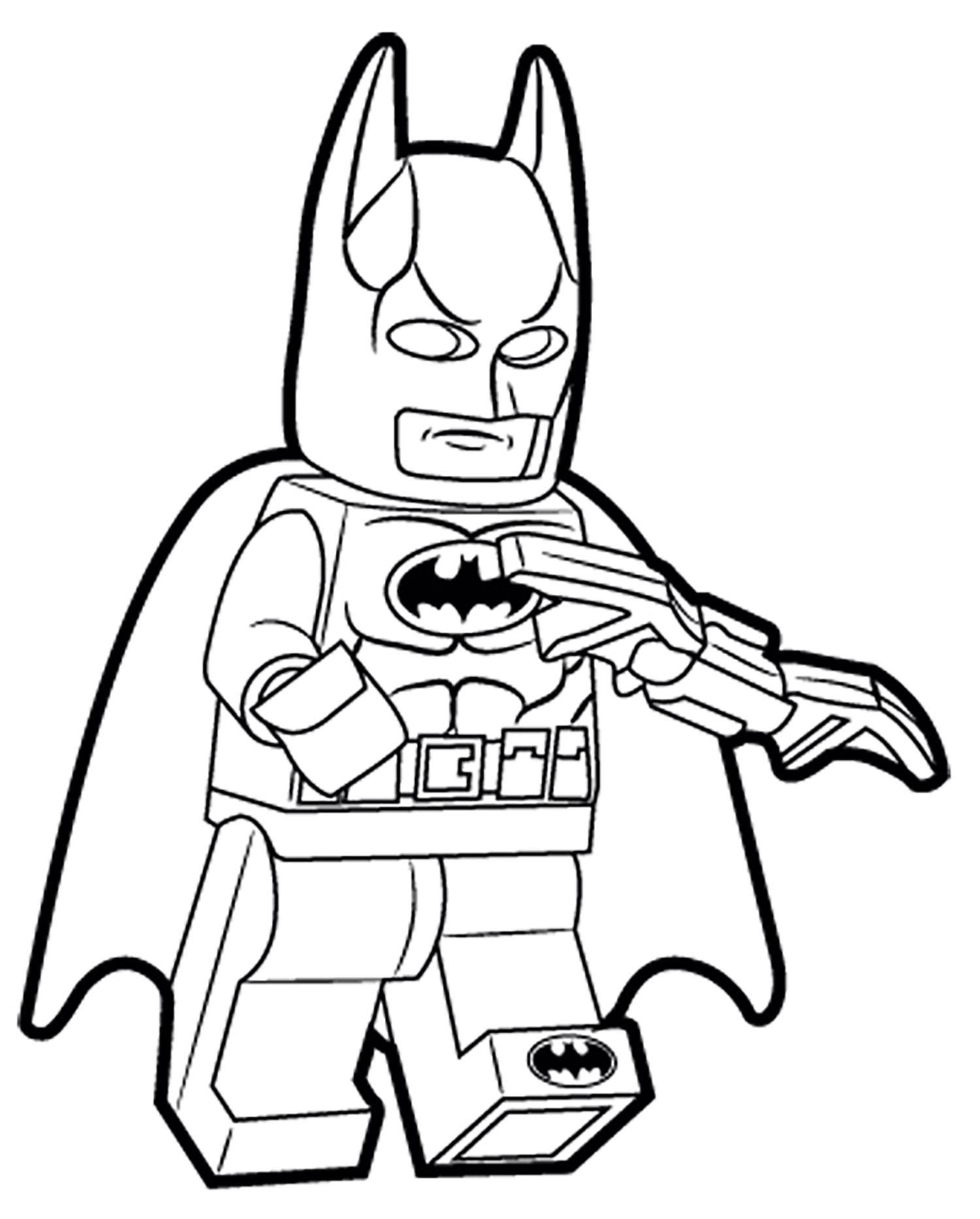 Coloriage Batman Arkham City