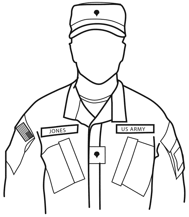 Army Drawing