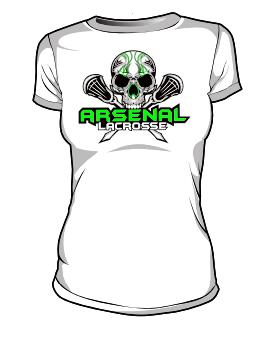 259x339 Arsenal Lacrosse Women's T Shirt Blatant Team Store
