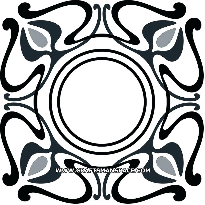 800x800 art deco pattern art geometric pattern style vector art deco fan