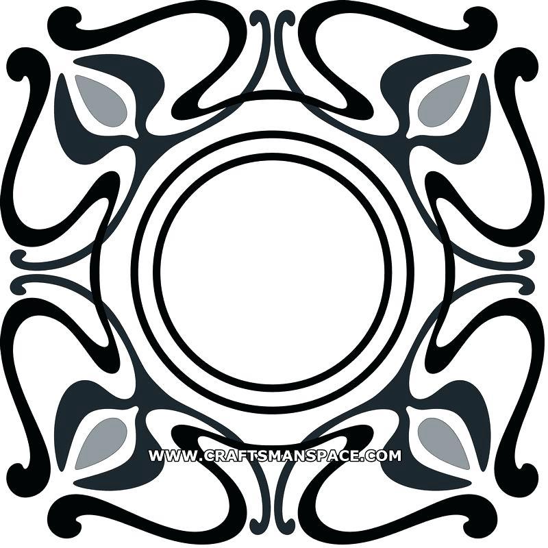 800x800 art deco pattern art geometric pattern style vector art deco fan