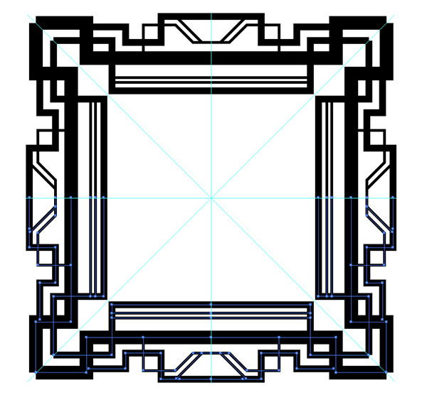 600x556 How To Create A Great Gatsby Style Art Deco Pattern